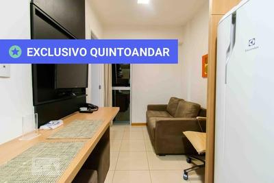 Apartamento No 5º Andar Mobiliado Com 1 Dormitório - Id: 892934469 - 234469