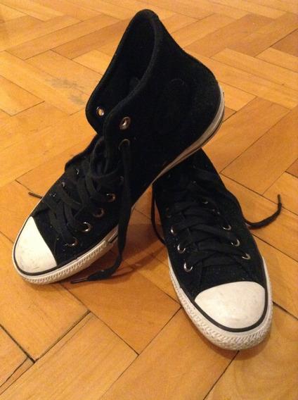 Zapatillas Converse Negras 41 Botita