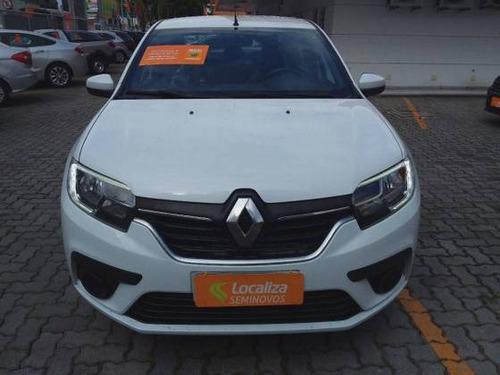 Imagem 1 de 9 de Renault Logan 1.0 12v Sce Flex Zen Manual