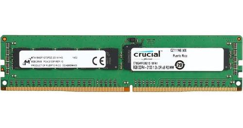 Imagem 1 de 3 de Memoria Smart Ecc 8gb Ddr4 Pc4-17000p-r Rdimm 2133mhz