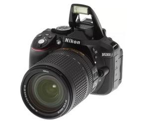 Nikon Ds5300 Dslr Câmera Af-p 18-55mm Lens Kit ( Black)