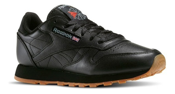 Tenis Reebok Classic Leather Negro