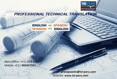 Traducción Técnica 985057951 Calidad Y Mejor Precio