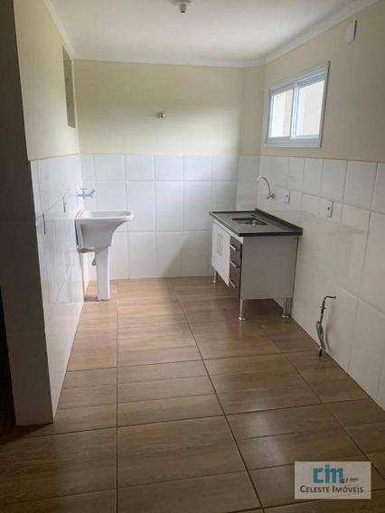 Apartamento Com 1 Dormitório Para Alugar, 45 M² Por R$ 650/mês - Jardim Faculdade - Boituva/sp - Ap0192