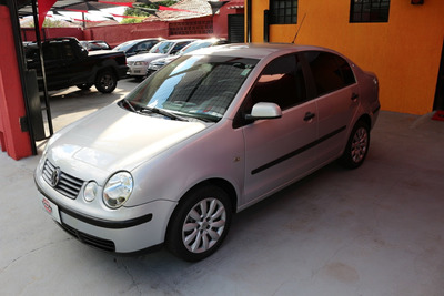 Vw Polo Sedan 2005 1.6 Flex (ent. + 36x 621,00 / 48x 508,00)