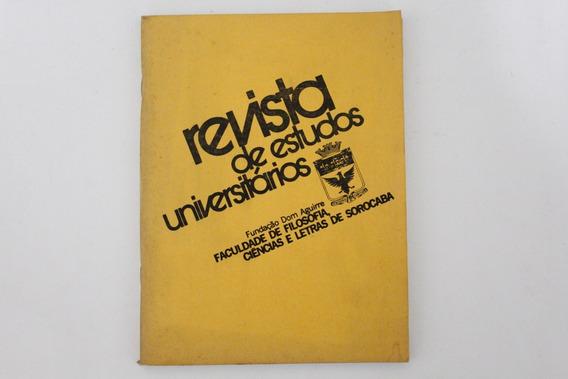 Revista De Estudos Universitários Fundação Dom Aguirre