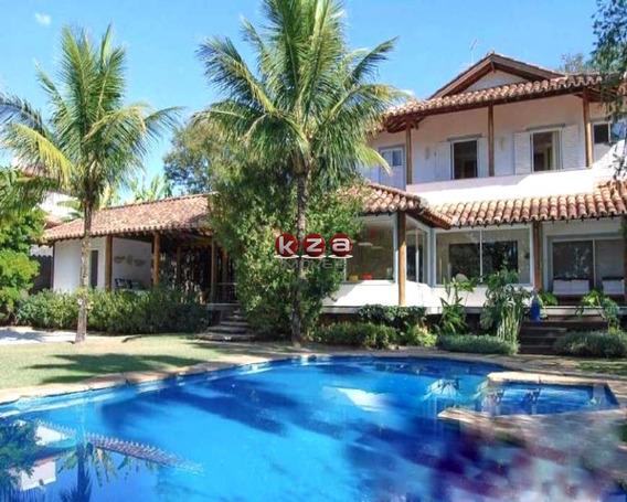 Casa De Alto Padrão, Com 4 Suítes, Village Visconde De Itamaracá Valinhos - Ca01732 - 33671119