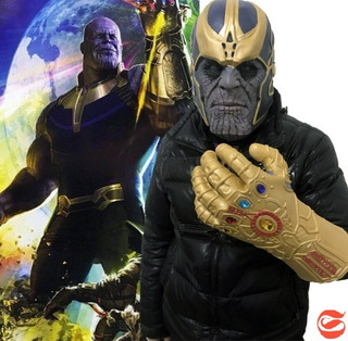 Thanos Mascara Y Guante Infinity War Avenger