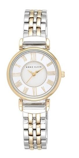 Reloj Anne Klein Para Mujer 30mm, Pulsera De Acero Inoxidabl