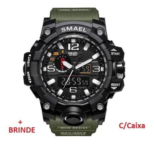 Relógio Esportivo G.chock Smael Mod. Novo 1545 C/caixa Prova