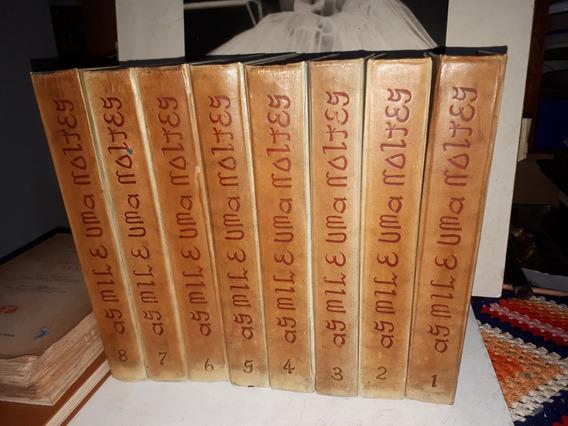 Antiga Coleção 08 Vol As Mil E Uma Noites Saraiva 1961
