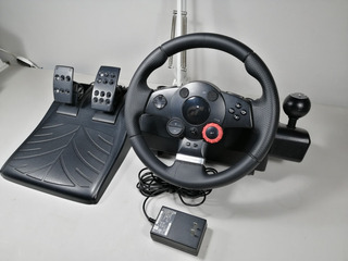 Logitech Driving Force Gt Para Playstation O Pc (guía)