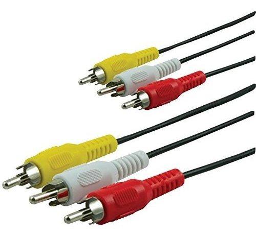 Imagen 1 de 1 de Ge 33611 Cable De A / V Compuesto Coaxial, 12 Pies