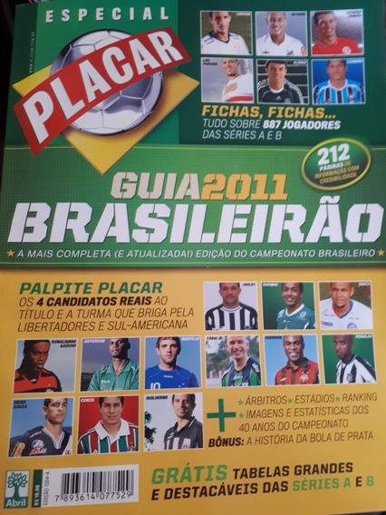 Revista Placar Guia Do Brasileirão 2011