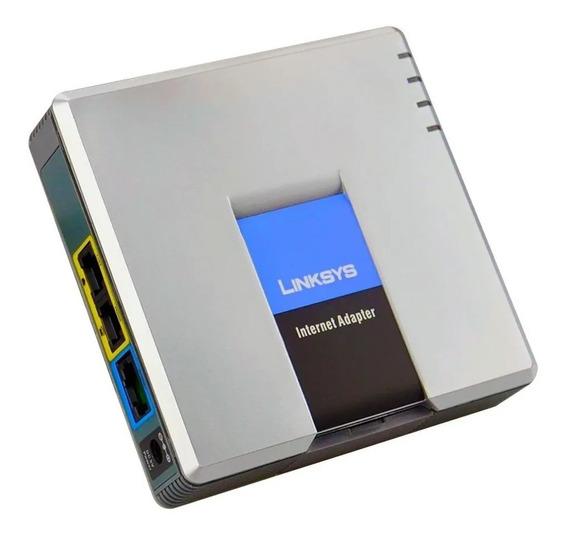 Ata Roteador Voip Cisco Linksys Spa2102 Roteador 2portas Fxs