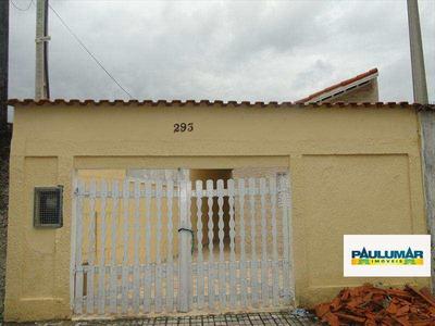 Casa Com 2 Dorms, Jardim Praia Grande, Mongaguá - R$ 180.000,00, 70m² - Codigo: 0425matriz - A709