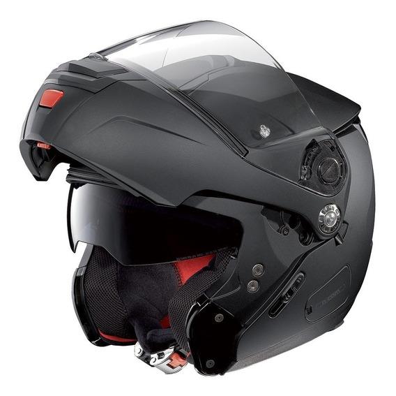 Capacete Nolan N90 Preto Fosco Escamoteável C/ Pinlock Anti-embaçante / Touca Balaclava / Saquinho