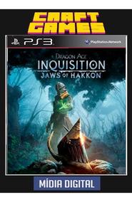 Dragon Age Inquisition Mandíbulas Hakkon Pt-br Psn Ps3 Dlc