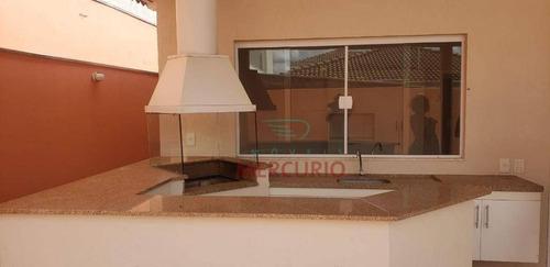 Casa Com 3 Dormitórios À Venda, 220 M² Por R$ 910.000,00 - Villaggio Iii - Bauru/sp - Ca3152