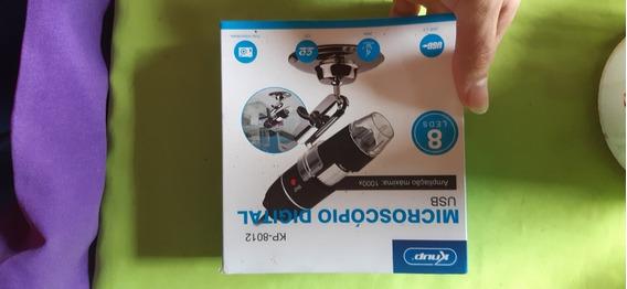 Microscópio Usb Semi Novo