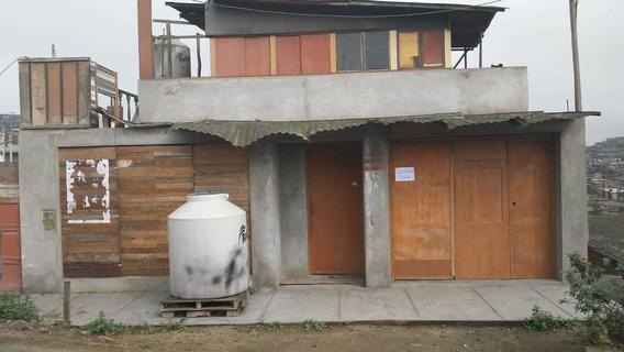Casa De 1 Piso - Cerca A Ancón - Ocasión!