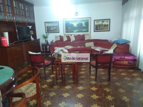 Sobrado Com 3 Dormitórios À Venda, 208 M²  - Jardim Da Saúde - São Paulo/sp - So0940