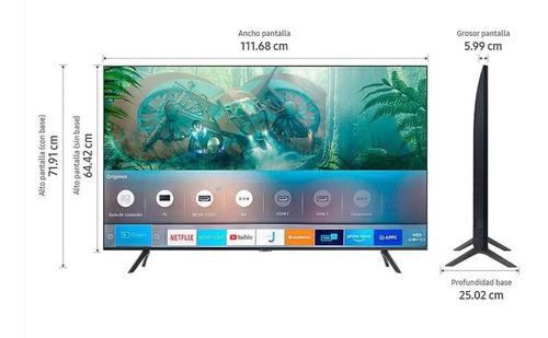 Televisor Led Samsung 127cm 50 Pulgadas Uhd Smart Tv Un50tu8