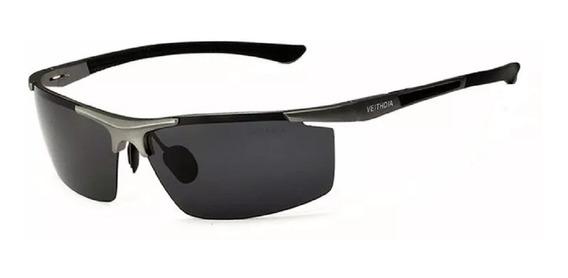 Óculos Sol Masculino Polarizado Esportivo Veithdia Original