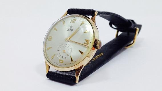 Reloj Marca Tudor De Oro De 14k Para Caballero (ref 251)
