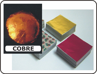 Foil Chocolates Color Cobre Naranja