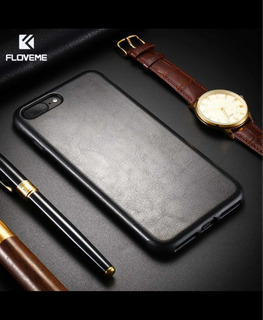 Funda iPhone 11 Pro Max Simil Cuero Floveme Carcasa Tpu