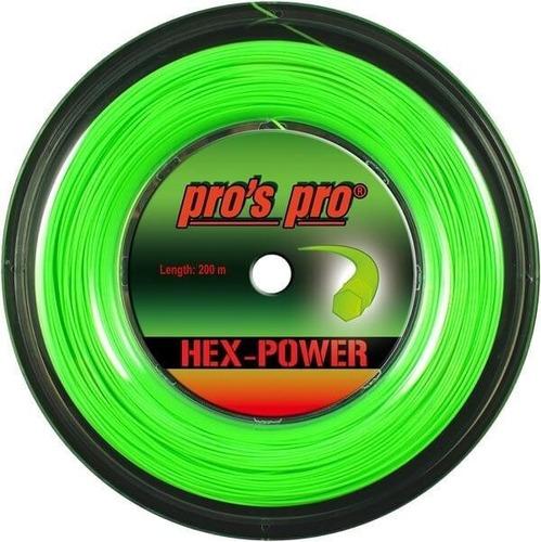 Rollo Cuerda Tenis Pros Pro Hex-power Hecha En Alemania