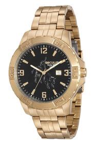 Relógio Masculino De Luxo Seculus Country 20443gpsvda1