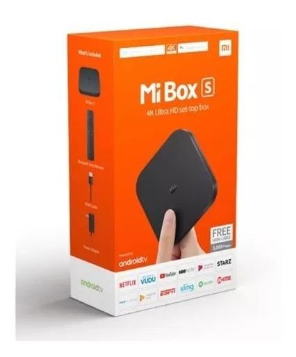 Mi Box S Tv Xiaomi Ultra Hd 4k Hdmi/usb/wi-fi - Bivolt
