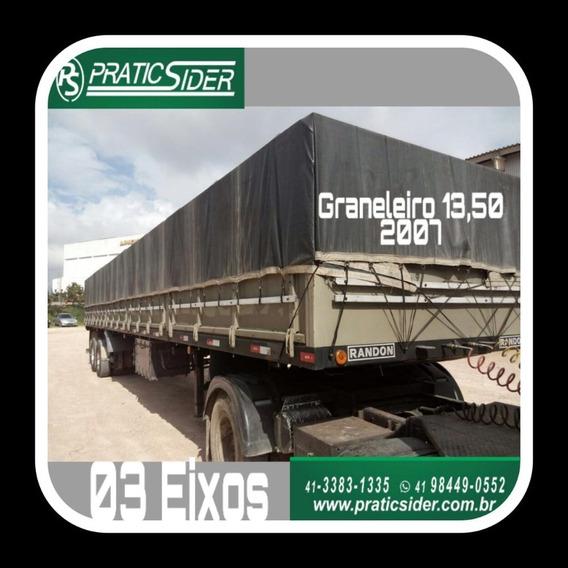 Carreta Graneleira 05 Tampas 13,50