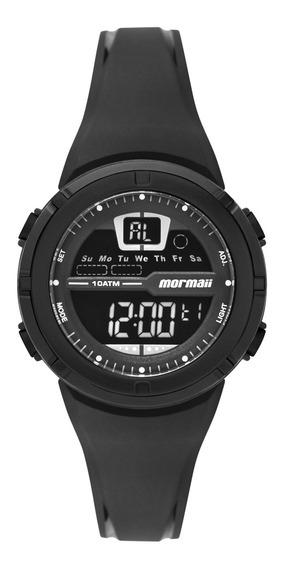 Relógio Digital Mormaii Nxt Infantil Fun Preto Mo2600aa/8p