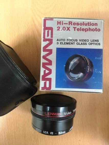 Lenmar Lente Zoom Camara Digital 46/49/ 52mm Incluye Anillos