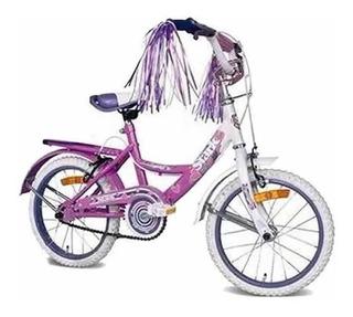 Bicicleta Stark Dama Flores Rodado 20 Mod 6096 Tio Musa