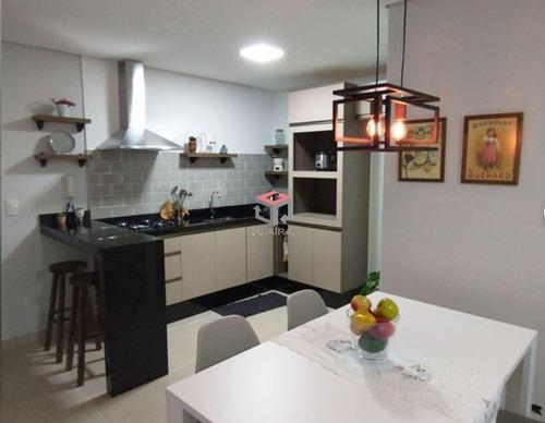 Apartamento À Venda, 2 Quartos, 1 Suíte, 1 Vaga, Das Nações - Santo André/sp - 100022