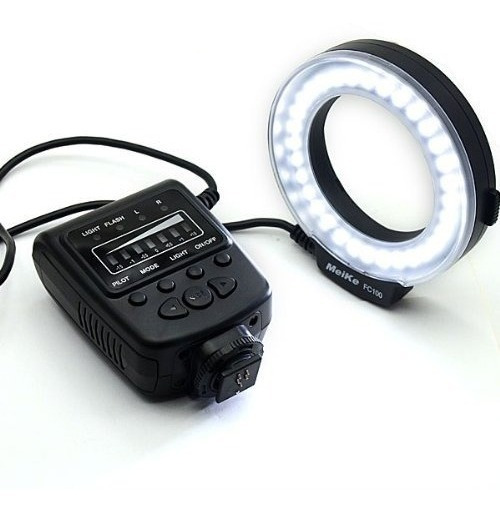 Flash Macro Ring Meike Fc100 Para Canon