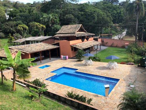 Embu - Lindo Sobrado/piscina/lazer/morar/03 Suites Ref 05147