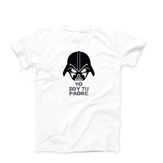 Remeras Dia Del Padre Star Wars, Calidad Rosario