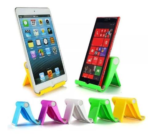 Imagen 1 de 2 de Soporte Para Celular Tablet Universal Stent Plegable De Mesa