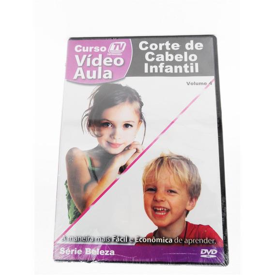 Curso Video Aula Corte De Cabelo Infantil Renda Extra Trabal