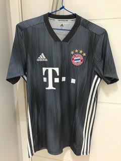 Camisa adidas Bayern De Munique Cinza Parley - M