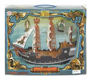 Barco Pirata Grande Con Accesorios 418115 Envio Full