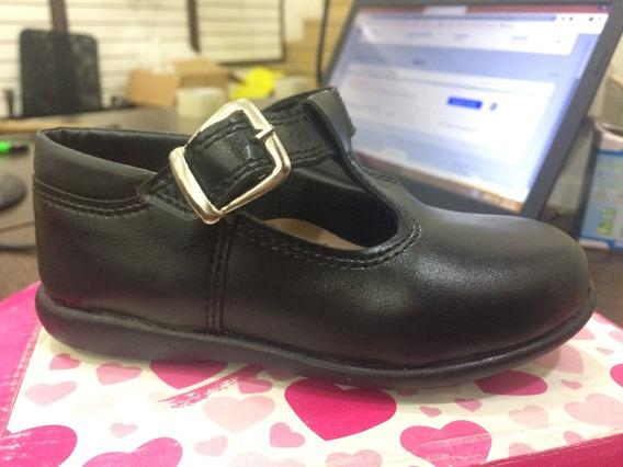 Guillermina Colegial Zapato De Vestir Hebilla Niñas Art 3010