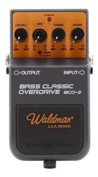 Pedal Bass Classic Overdrive Bco-2 Waldman Baixo