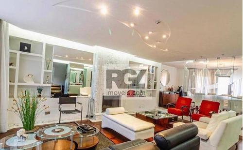 Imagem 1 de 18 de Apartamento À Venda, 190 M² Por R$ 2.299.000,00 - Moema - São Paulo/sp - Ap7599