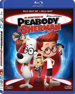 Blu-ray 3d + 2d As Aventuras De Peabody E Sherman